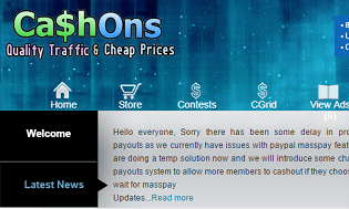Cashons review - Scam or Legit