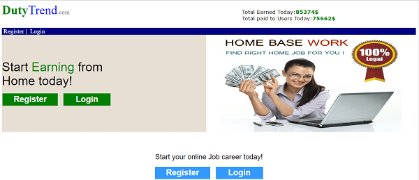 what is dutytrend, dutytrend review, dutytrend scam or legit, dutytrend real or fake, dutytrend.com