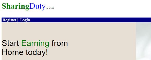 What is SharingDuty.com, Is SharingDuty Scam or Legit, SharingDuty Real or Fake, SharingDuty Review, SharingDuty