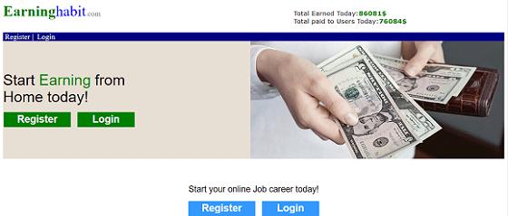 What is Earninghabit.com, Is Earninghabit Scam or Legit, Earninghabit Real or Fake, Earninghabit Review, Earninghabit