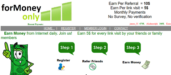 What is Formoneyonly.com, Formoneyonly Scam or Legit, Formoneyonly Real or Fake, Formoneyonly Review, Formoneyonly