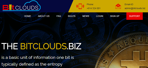 What is Bitclouds.biz Is Bitclouds Scam or Legit Is Bitclouds Real or Fake Bitclouds Review Bitclouds