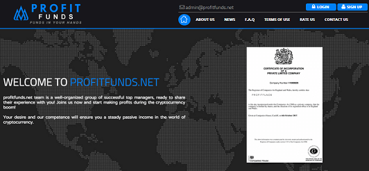 What is Profitfunds.net Is Profitfunds Scam or Legit Is Profitfunds Real or Fake Profitfunds Review Profitfunds