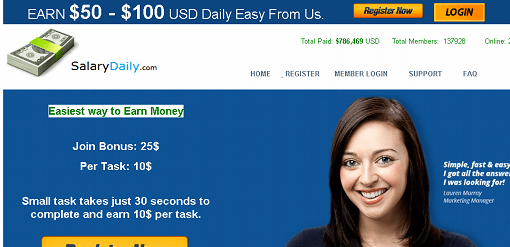 What is Salarydaily.com, Is Salarydaily Scam or Legit, Is Salarydaily Real or Fake, Salarydaily Review, Salarydaily