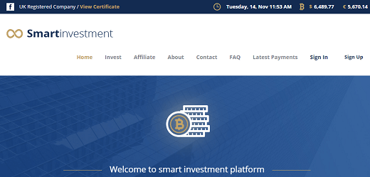 What is Smartinvestment.io Is Smartinvestment Scam or Legit Is Smartinvestment Real or Fake Smartinvestment Review Smartinvestment