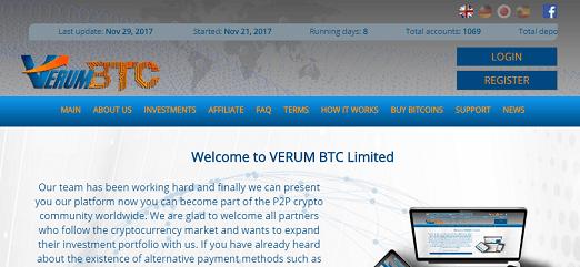 What is Verumbtc.com Is Verumbtc Scam or Legit Is Verumbtc Real or Fake Verumbtc Review Verumbtc