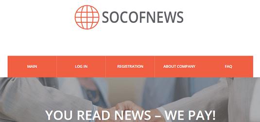 What is Socofnews.com Is Socofnews Scam or Legit Is Socofnews Real or Fake Socofnews Review Socofnews